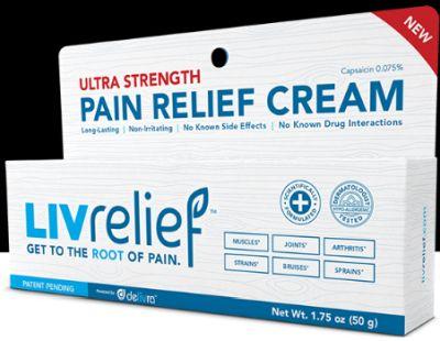 LivRelief Pain Relief Cream Free Sample - US