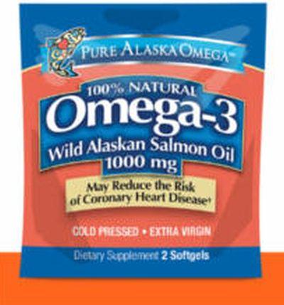 Sam's Club Pure Alaska Omega Salmon Oil Soft Gels at Freeosk