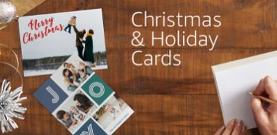 Amazon.com 25 Free Holiday Cards at Amazon Prints for Prime Members with Code FREECARDS – Saturday, November 26, 2016, US