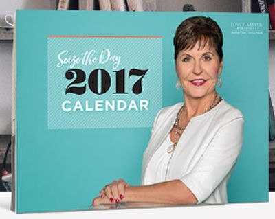 Joyce Meyer Ministries Free Seize The Day 2017 Calendar