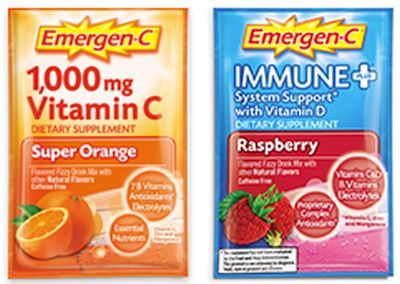 Emergen-C Vitamin Supplement Drink Mix Free Samples - US