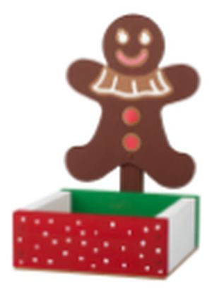 The Home Depot Build a Free Gingerbread Man Candy Dish at Home Depot Kids Workshop on December 3, 2016 from 9am - 12pm - US