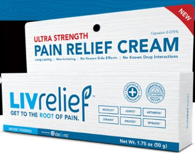 LIVrelief Pain Relief Cream Free Sample - US