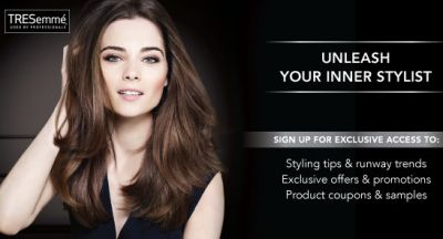 TREsemme Free Samples, Coupons, Exclusive offers and Promotions - US