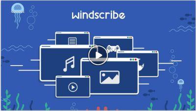 Windscribe Virtual Private Network VPN 50 GB for Free per Month