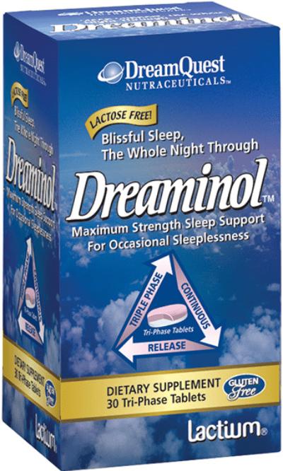 Natures Plus Free DreamQuest Nutraceuticals Dreaminol Sample