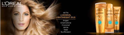 L'Oreal Paris Free Shampoo Samples - US