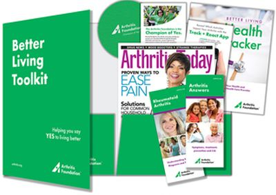 Arthritis Foundation Free Better Living Toolkit with Brochure, Magazine and Jar Opener - US