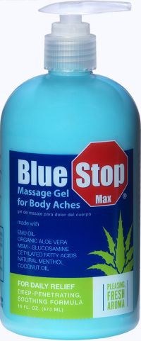 Sam's Club Free Sample of Blue Stop Max Massage Gel - Sam's Club Members Only, US