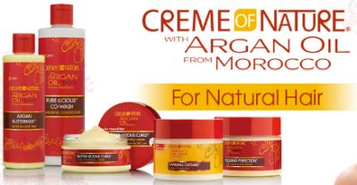 Creme of Nature Free Sample Pack via Facebook