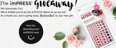 imPRESS Manicure Free BeJeweled Nail Art - US