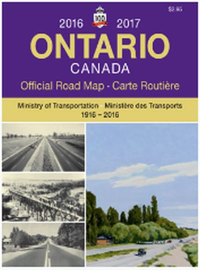 Ontario Free Travel Guides and Official Road Map - Canada