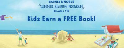 Barnes & Noble Summer Reading Program for Grades 1-6 Kids Earn a Free Book - US