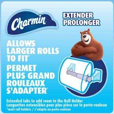 Charmin Toilet Paper Roll Extender - Canada