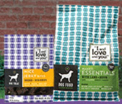 I and love and you Essentials Food and Treats Free Naked Essentials Nice Jerky Bites or Grain Free Kibble for Dogs - US