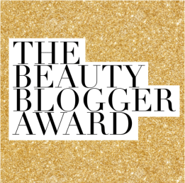 beauty blogger award image