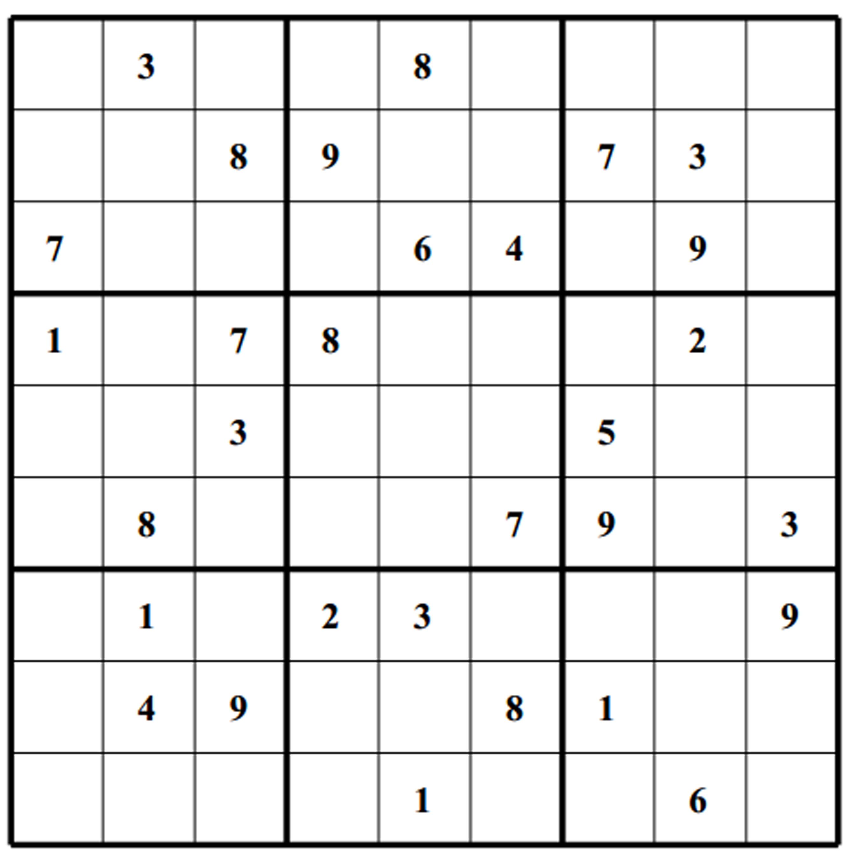 Sudoku Blank