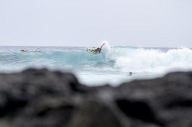 Maui boy Tony Nunez backhand attack at Banyans-Keoki Saguibo