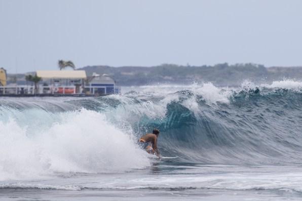 Ocean Donaldson Sargis navigating a chunky section-Tyler Rock