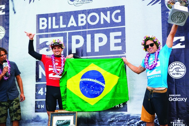Adriano De Souza and Gabriel Medina Photo: Kirstin