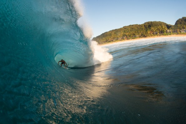 It's been said that winning isn't everything, but wanting to is. Expect Sebastian Zietz - the 2012 Vans Triple Crown champion - to put this saying into action during freesurfs throughout the winter season at Pipeline and Backdoor. Photo: Daniel Russo
