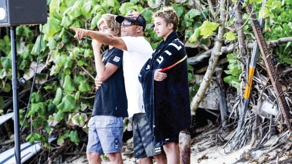 Sammy Rust and Ocean Macedo Photo: Heff