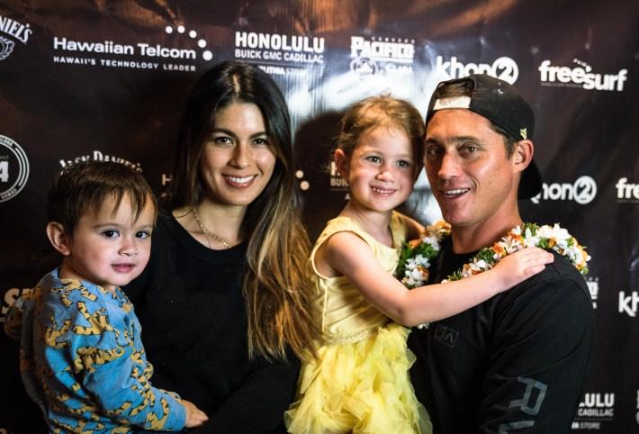 Makua Rothman and Family