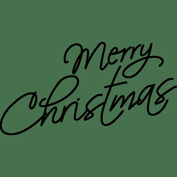 Merry Christmas Saying 2 Free Svg