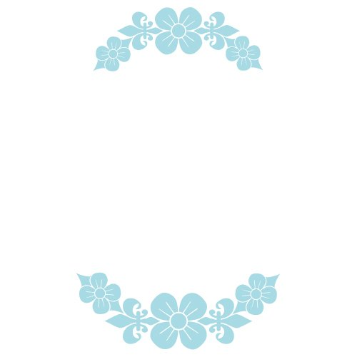 Monogram Frame SVG