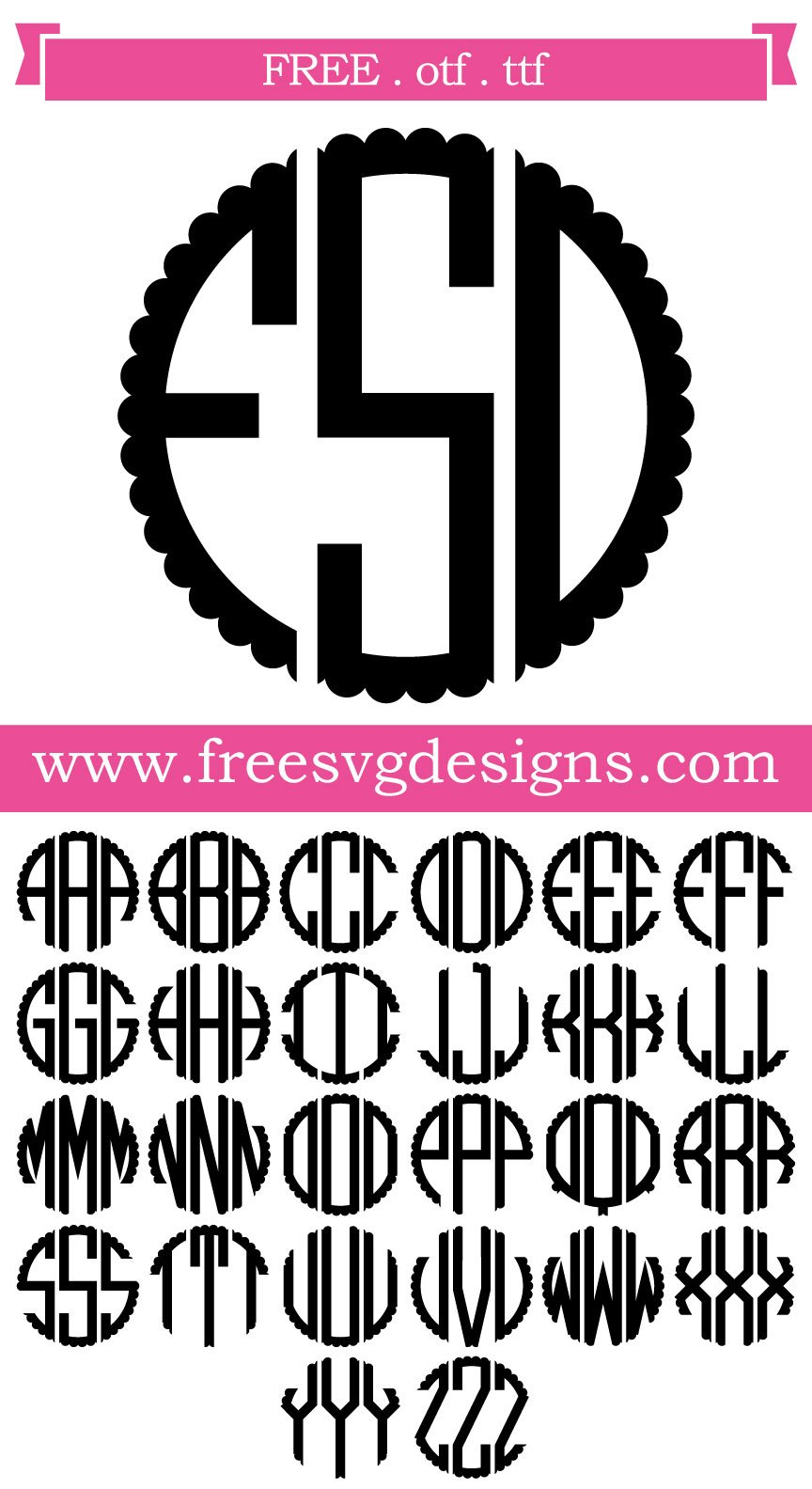 Download Free Scalloped Circle Svg - Chocolate On The Keyboard ...