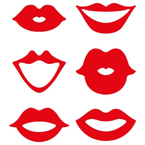 Download Lips SVG cut file - FREE design downloads for your cutting ...