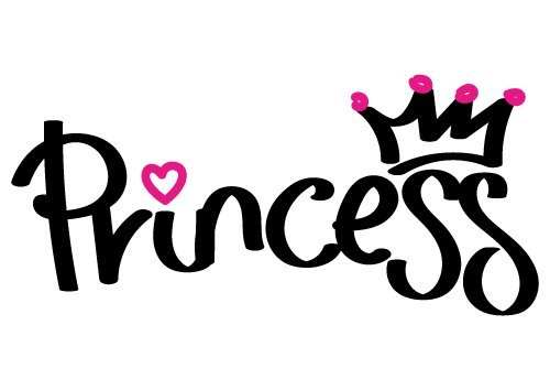 Princess Quote SVG