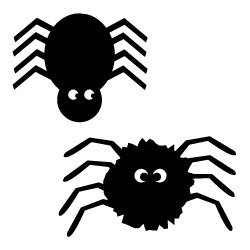 Free svg cut files Halloween Spiders. FREE downloads includes SVG, EPS, PNG and DXF files for personal cutting projects. Free vector / printable / free svg images for cricut