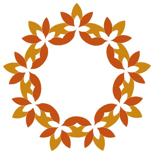 wreath template free svg # 50