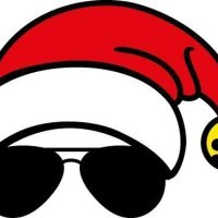 Free santa with sunglasses cut files at www.freesvgdesigns.com. FREE downloads includes SVG, EPS, PNG and DXF files for personal cutting projects. Free vector / printable / free svg images for cricut