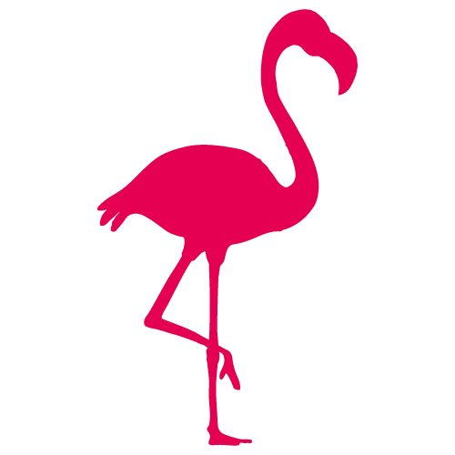 Free Flamingo silhouette cut files at www.freesvgdesigns.com. FREE downloads includes SVG, EPS, PNG and DXF files for personal cutting projects. Free vector / printable / free svg images for cricut