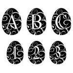 Free Easter Monogram Font cut files at www.freesvgdesigns.com. Our FREE downloads includes OTF, TTF, SVG, PNG and DXF files for personal cutting projects. Free vector / printable / free svg images for cricut