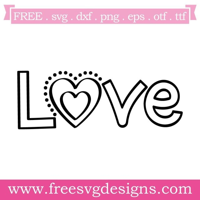 Free love cut files at www.freesvgdesigns.com. Our FREE downloads includes OTF, TTF, SVG, PNG and DXF files for personal cutting projects. Free vector / printable / free svg images for cricut #freesvg #svg #svgfile #cricut #silhouette
