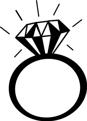 Free SVG Silhouette cut files at www.freesvgdesigns.com. Our FREE downloads includes OTF, TTF, SVG, PNG and DXF files for personal cutting projects. Free vector / printable / free svg images for cricut #freesvg #diycrafts #svg #cricut #silhouettecameo #svgfile #silhouette #diamondring #ring