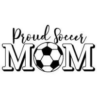 Proud Soccer Mom SVG