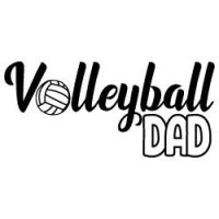 Volleyball Dad SVG