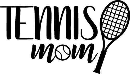 Tennis Mom SVG