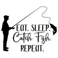 Eat Sleep Catch Repeat SVG