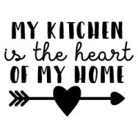 My Kitchen Is The Heart Of My Home SVG