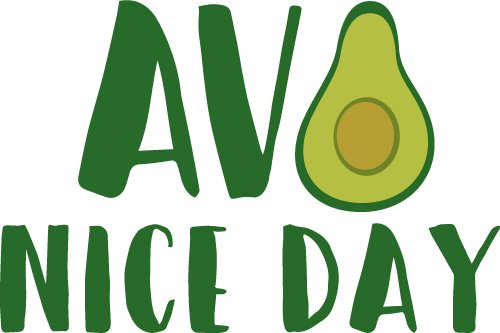 Avo Nice Day SVG