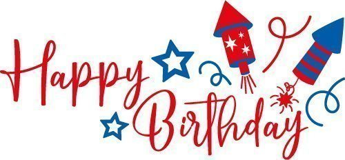 Free Svg Files Svg Png Dxf Eps Happy Birthday 4th July