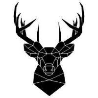 Reindeer Polygon SVG