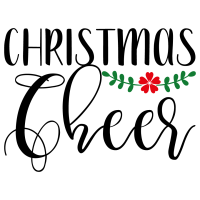 Quote Christmas Cheer SVG