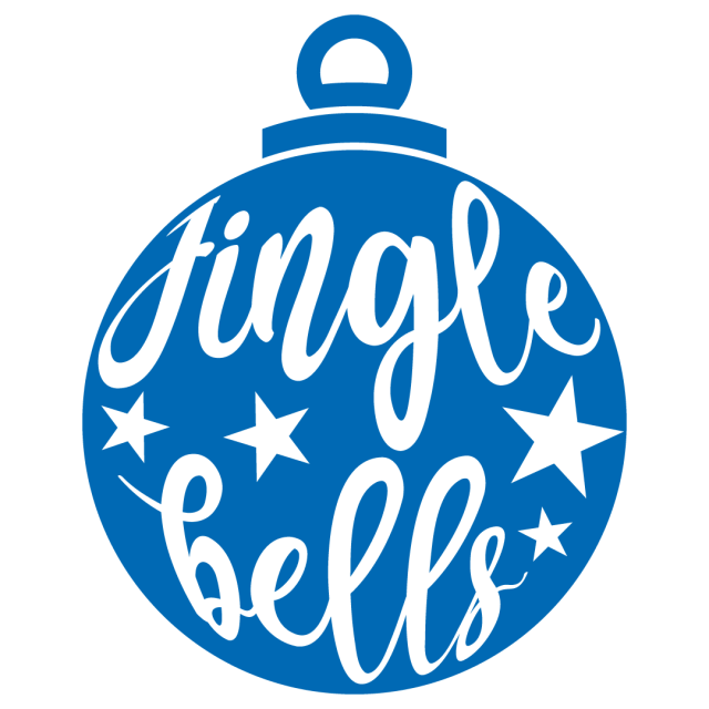 Jingle Bells Bauble Ornament