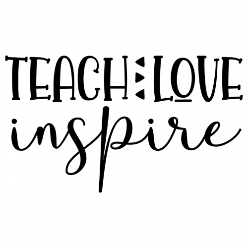 Download Free SVG Files | SVG, PNG, DXF, EPS | Quote Teach Love Inspire